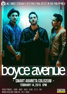 Boyce Avenue Live in Manila
