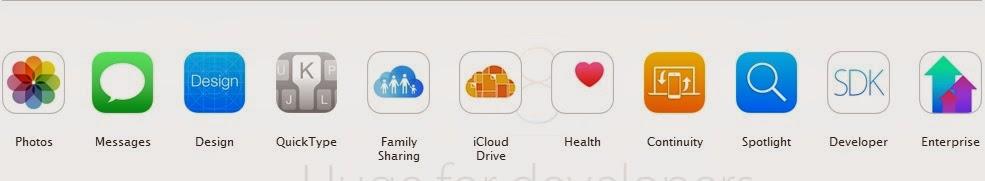 iOS Menu