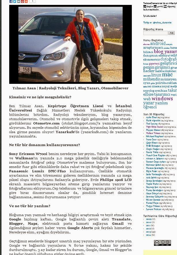 TeknoDonanim Röportajı 1