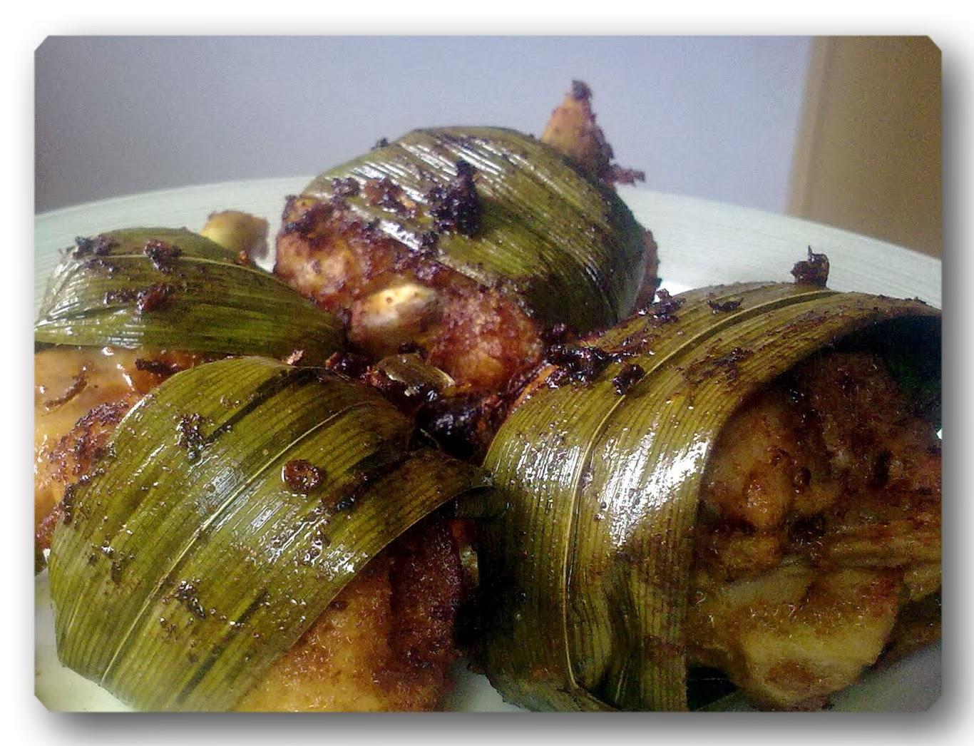 resep ayam goreng pandan khas thailand