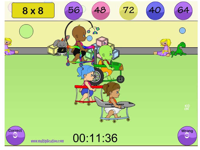 http://www.multiplication.com/games/play/diaper-derby