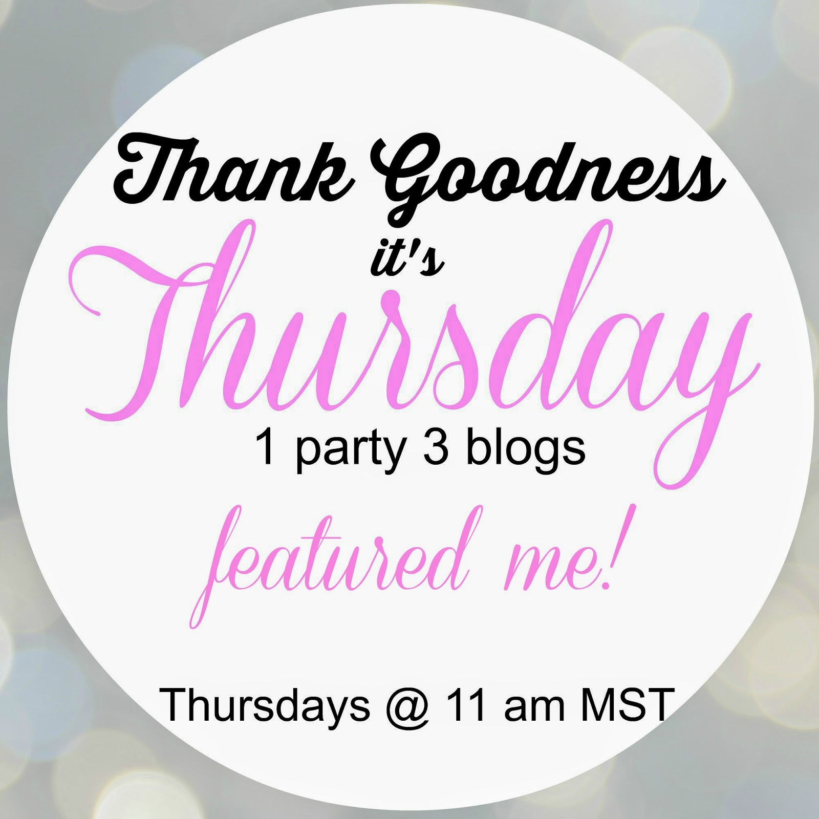 Thank Goodness It's Thursday No. 65 :: www.beckycharms.com