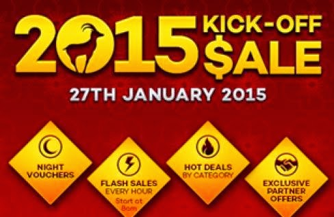 Lazada Chinese New Year Kick-Off Sale