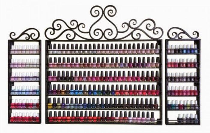 Pure spa direct blog nail polish display - Rangement mural vernis a ongles ...
