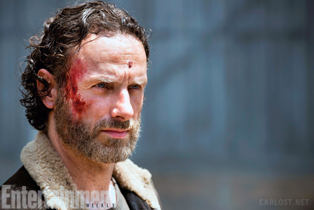 Rick Grimes (Andrew Lincoln) en The Walking Dead 5x01