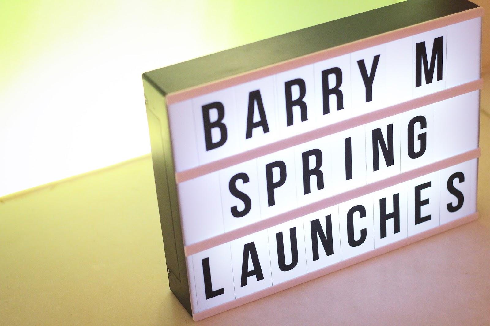 Barry M SS16