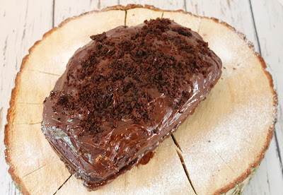 Squidgy chocolate orange loaf cake