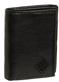 Columbia Men's RFID Security Shield Theft Protection Leather Trifold Wallet