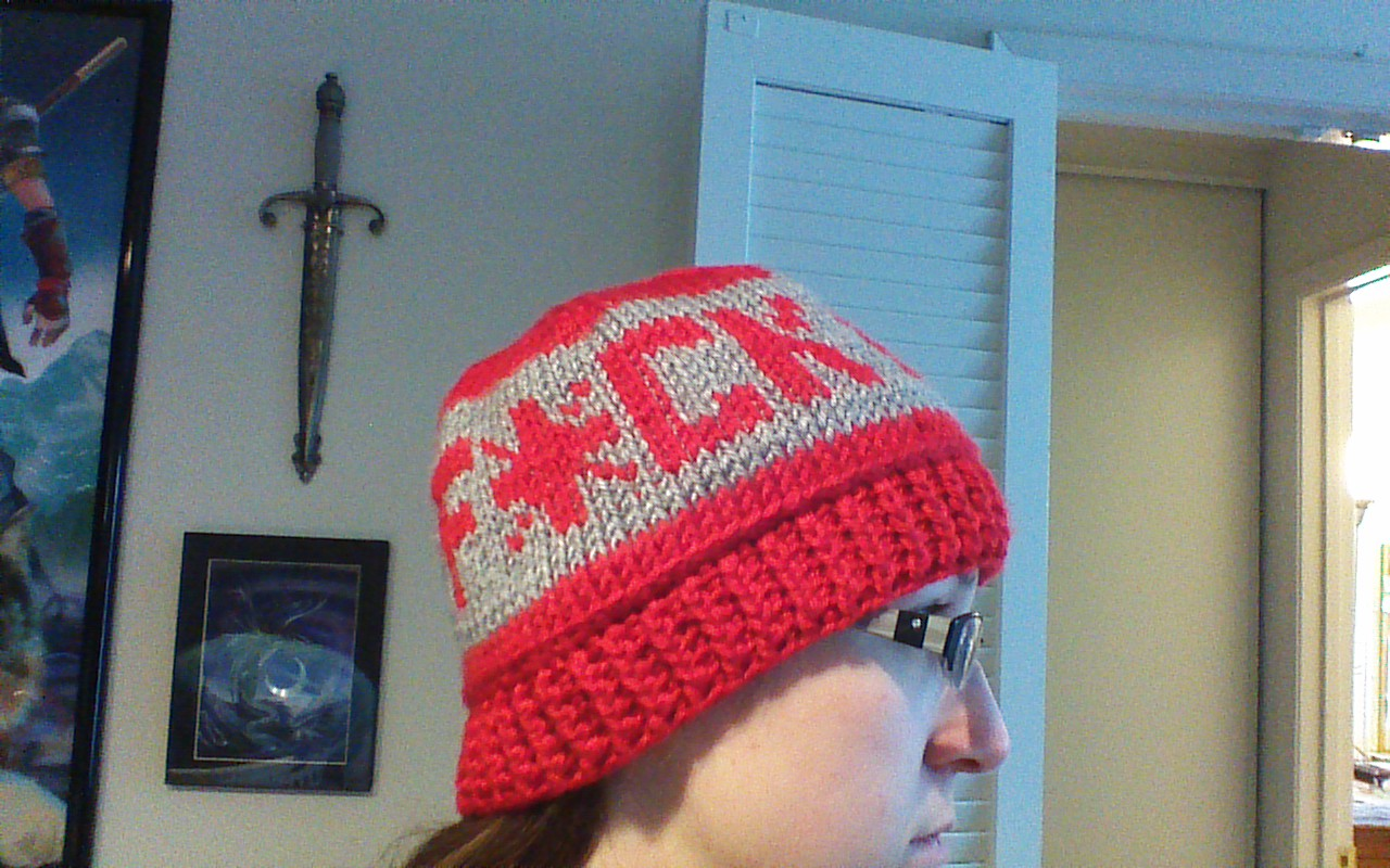 Adventures of a Craftaholic: F*ck Cancer Hat Pattern, In Tunisian ...