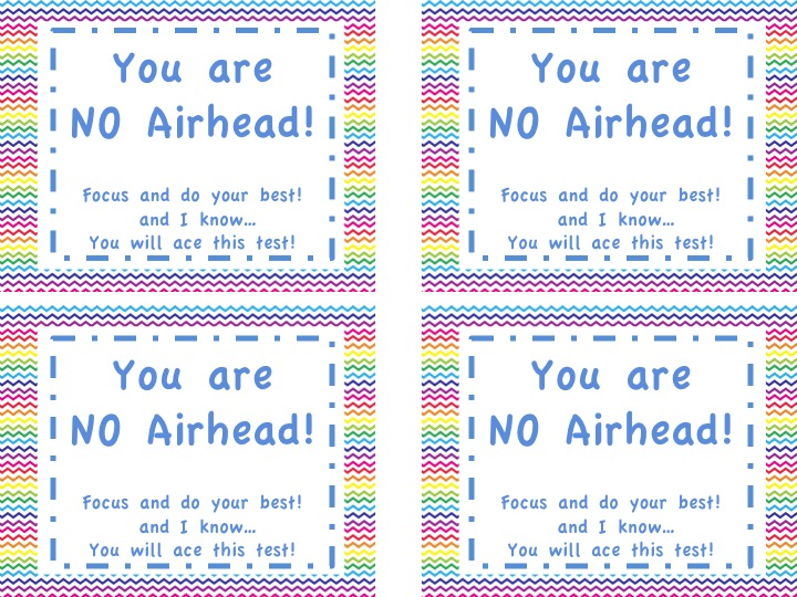 Adventures of Ms. Smith: Testing Motivation: Airheads!