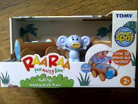 Raa Raa, Huffty, Interactive Train, toy, review, CBeebies series