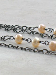 1920s vintage inspired freshwater pearl necklace
