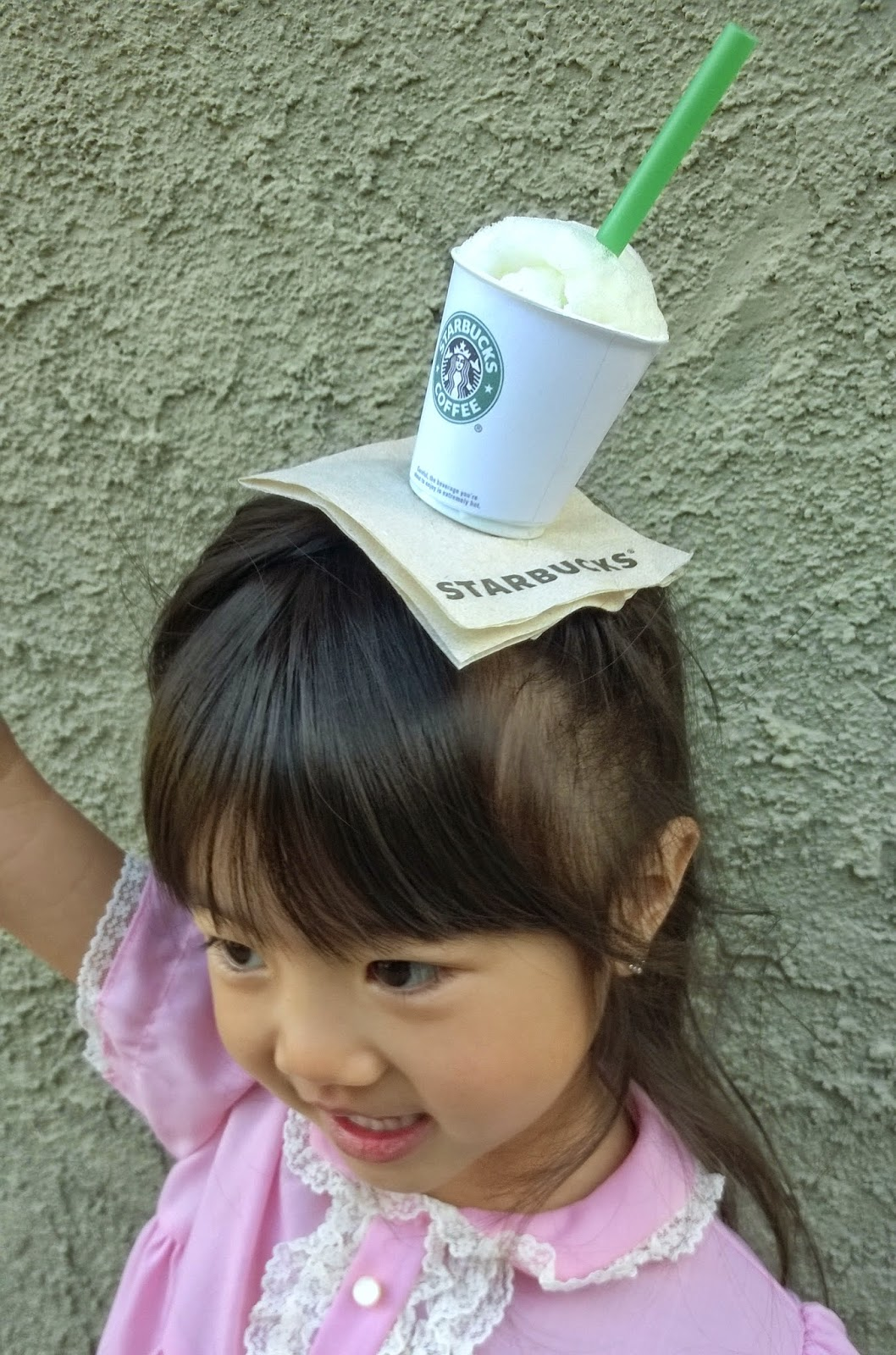 diy mini starbucks hat