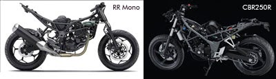 Sasis Ninja RR Mono & All New Honda CBR250R