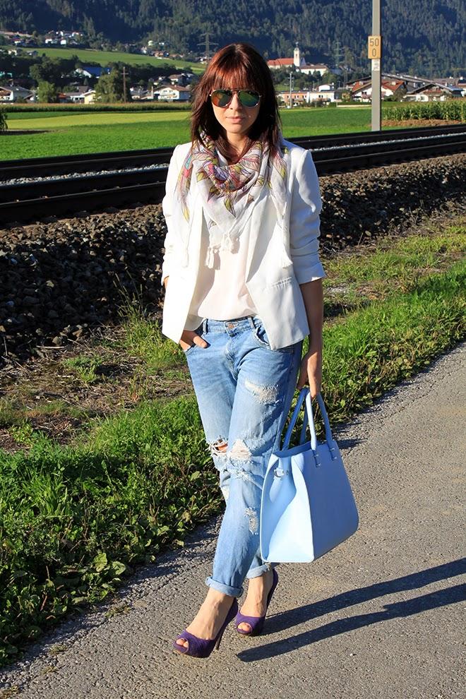 outfit_trend_barts_schal_boyfriend_jeans_zara_heels_lila_fashionblogger