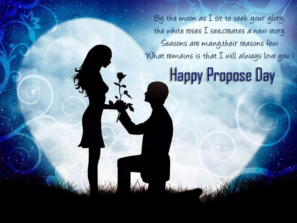 Happy Propose Day 2015 Hindi SMS Valentine Day Best Wallpaper