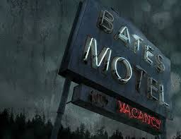 Bates Motel vacancy sign