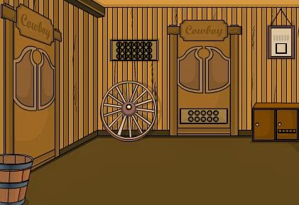 EightGames Peter Breck Cowboy Room Escape Walkthrough