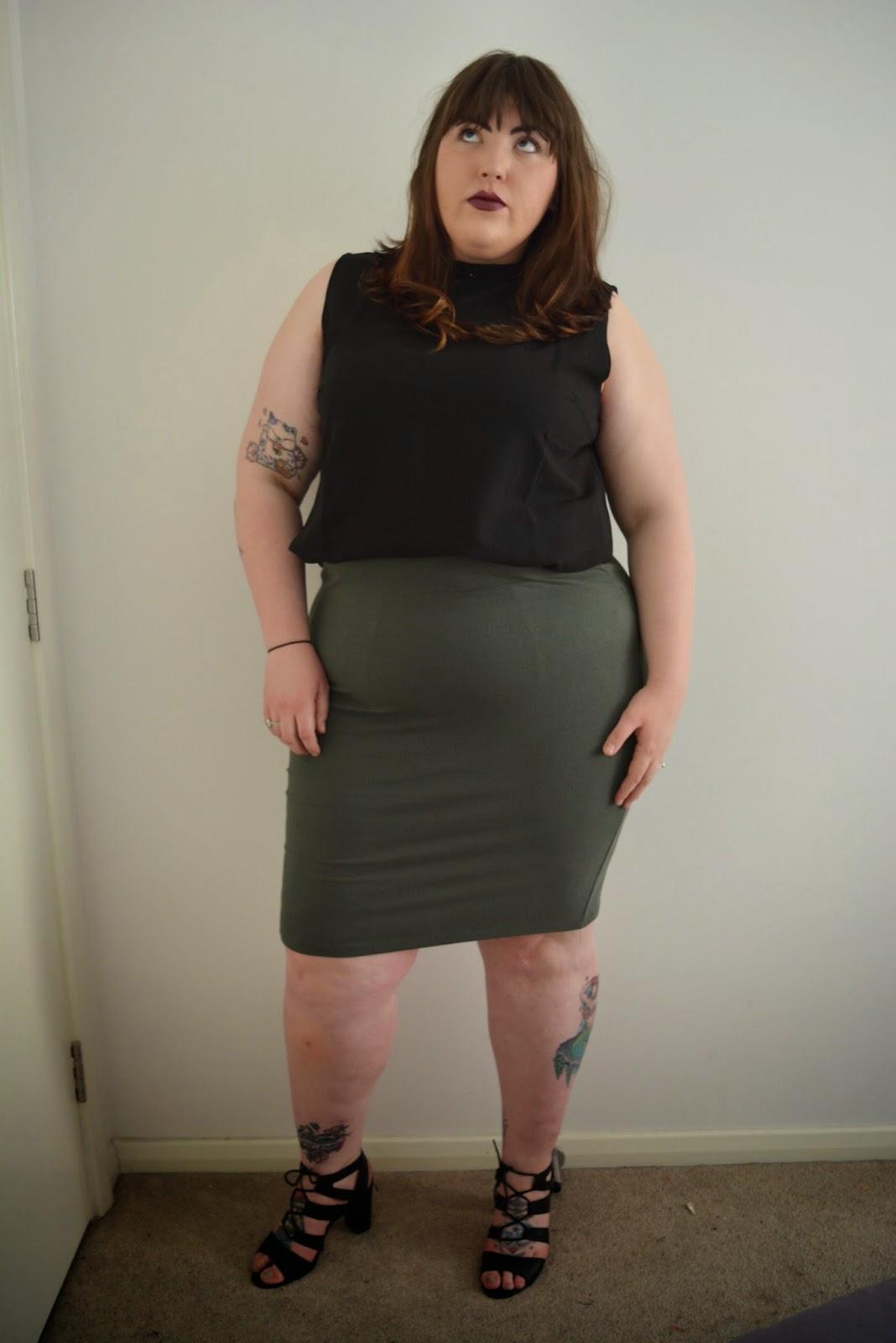 Plus Size Kim Kardashian
