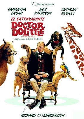 El extravagante doctor Dolittle, Hugh Lofting, Richard Fleischer,  Rex Harrison
