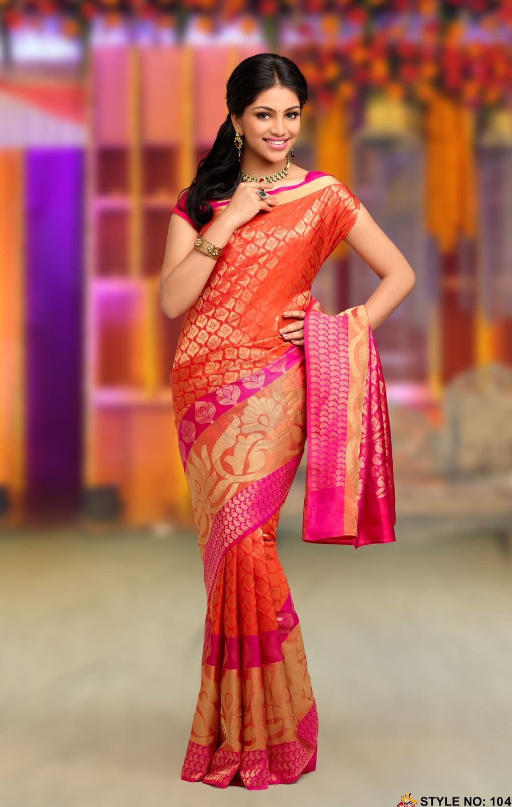 Chennai Silk Bridal Saree models