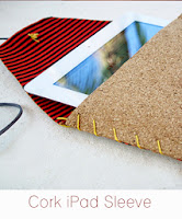 http://www.cremedelacraft.com/2013/05/DIY-Cork-iPad-Case.html