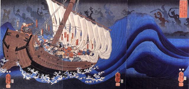 Funayurei Taira_funayurei_Kuniyoshi