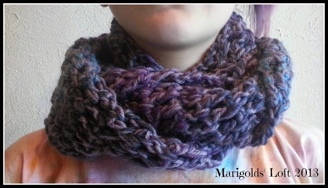 Free Easy Crochet Cowl