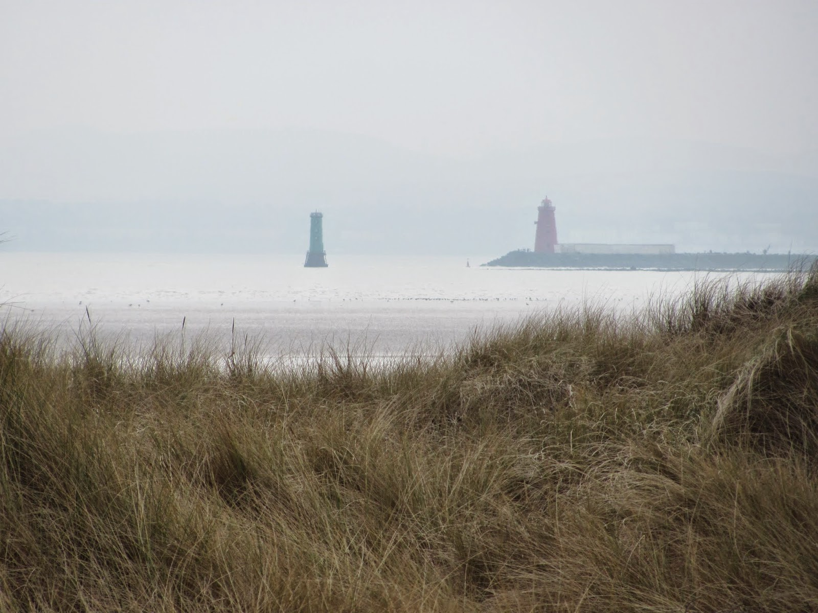 Poolbeg Lighthouse from Bull Island