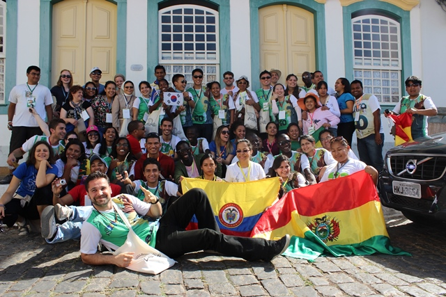 Encontro Internacional da JUFRA em São João Del Rei/MG 2013
