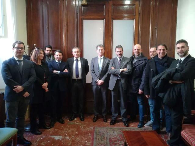 Incontro con il Direttore Ispettorato Dirigente Generale P.S. dr Michele Rocchegiani