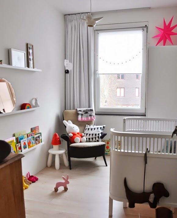 Ideas de dormitorios para beb dormitorios colores y estilos - Chambre de bebe dans une alcave ...