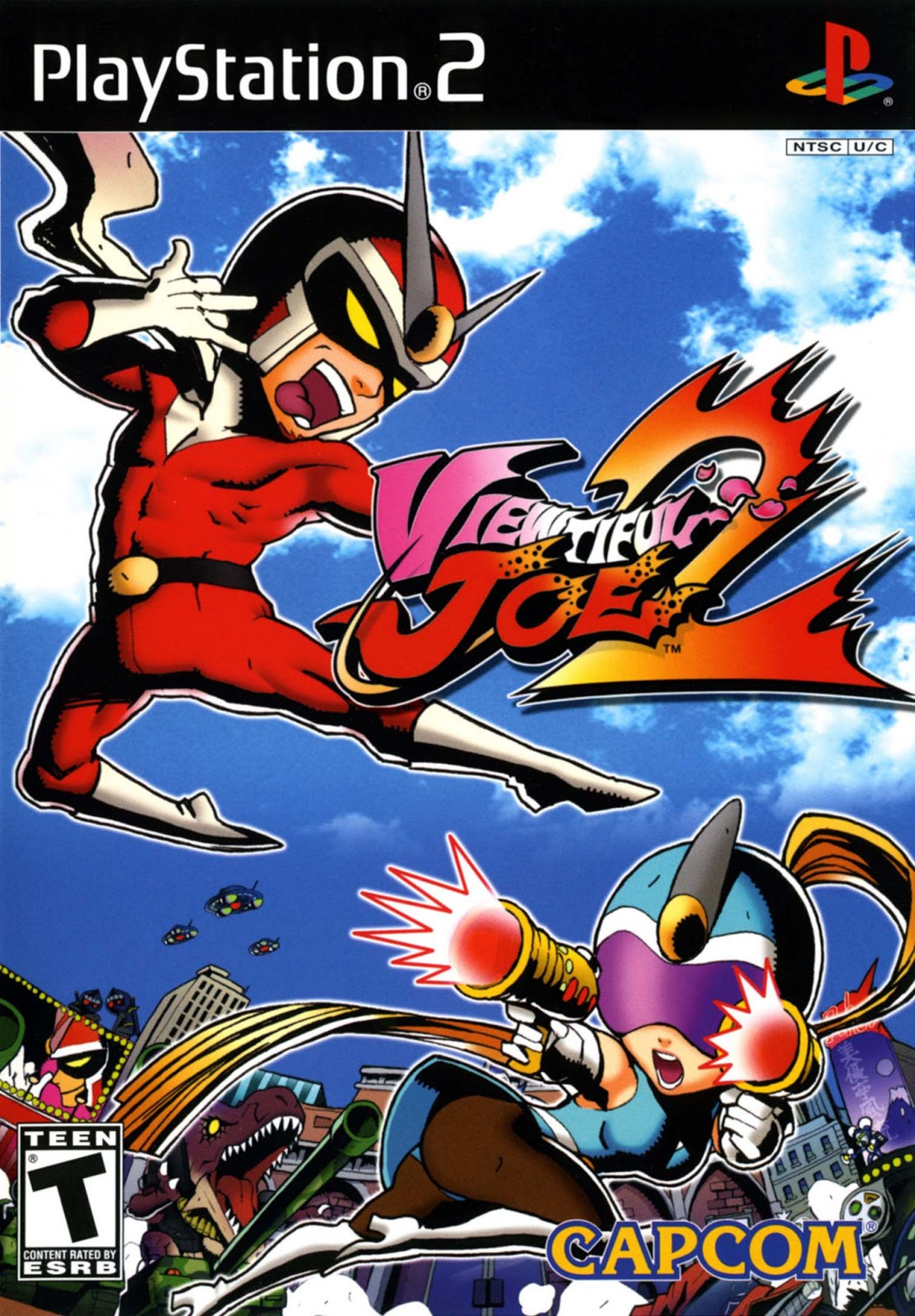 ps2 viewtiful joe 2 hiero s iso games collection