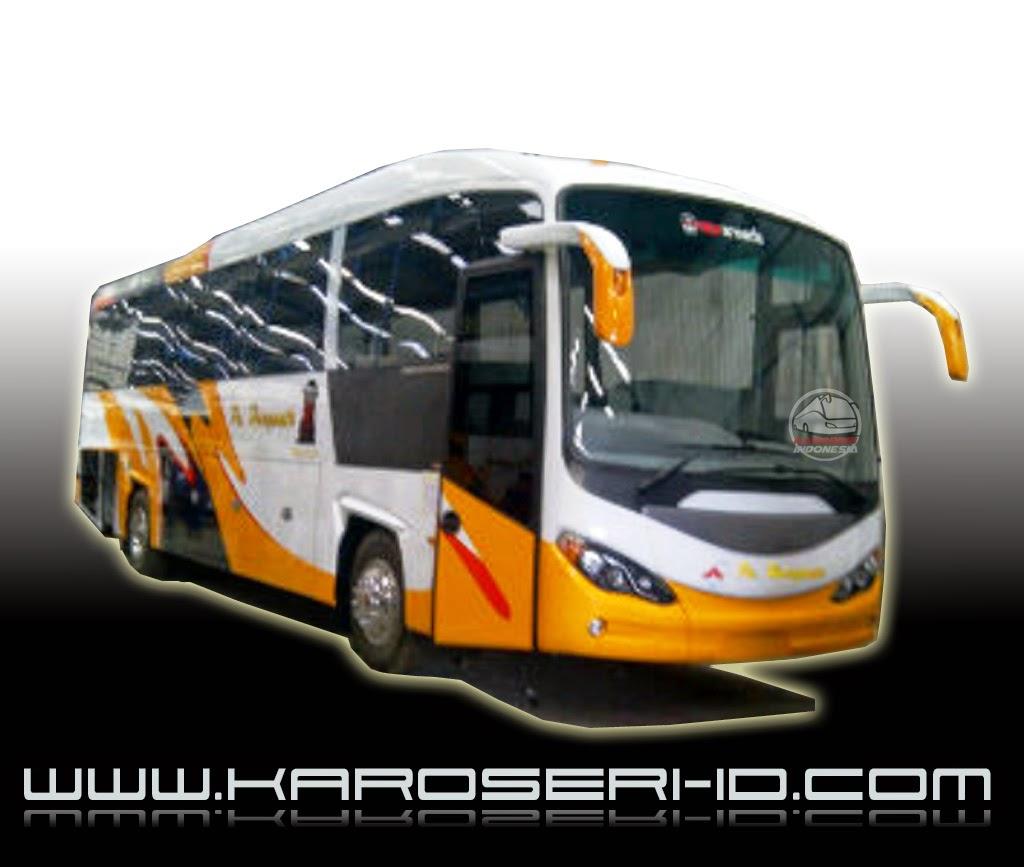 Bus Terbaru Evonext GT PO Haryanto