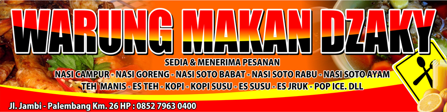 Design Spanduk Warung Makan | Joy Studio Design Gallery - Best Design