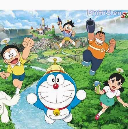 Doraemon Nobita Thám Hiểm Vùng Đất Mới