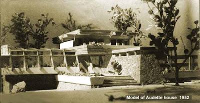 1952 model for Peter Muller's Audette House