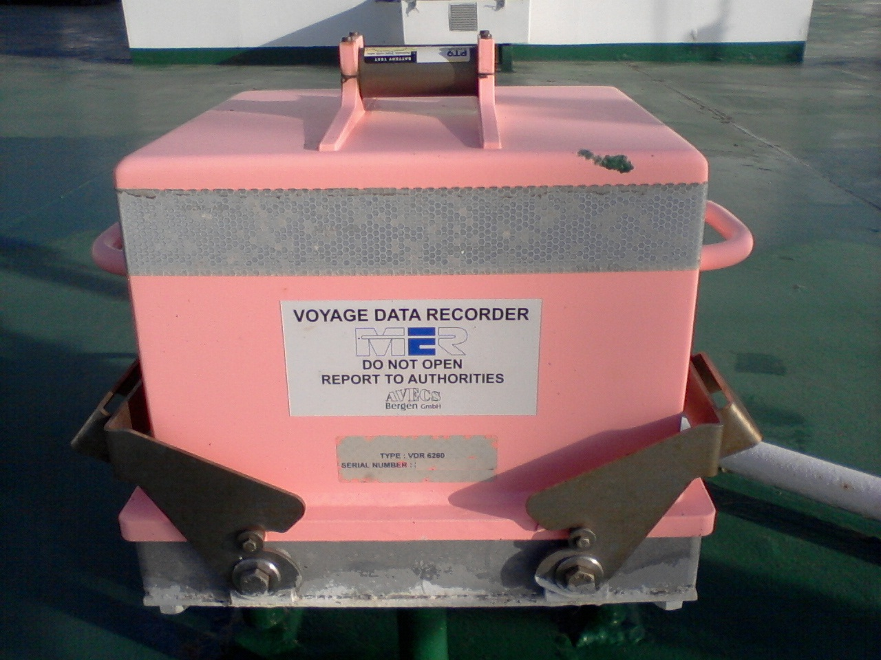 Voyage Data Recorder : La quot caja negra de un barco todo vela