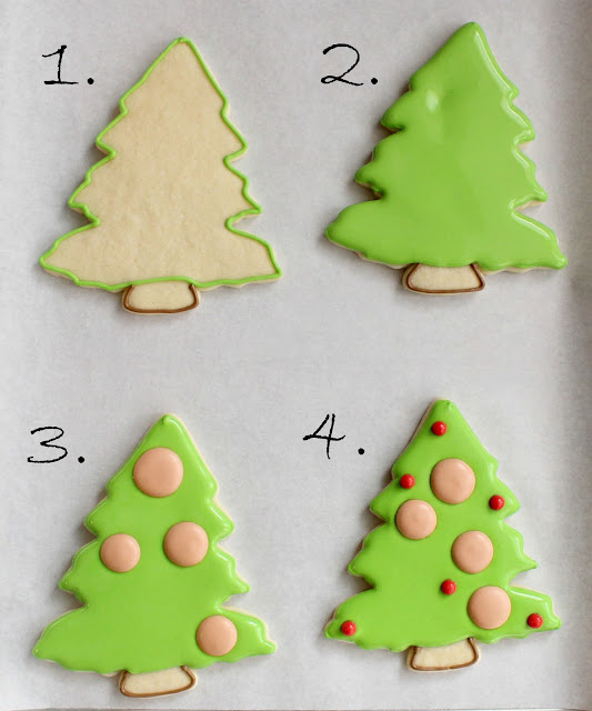 Christmas Family Tree Cookies {with printable toppers} – Glorious ...