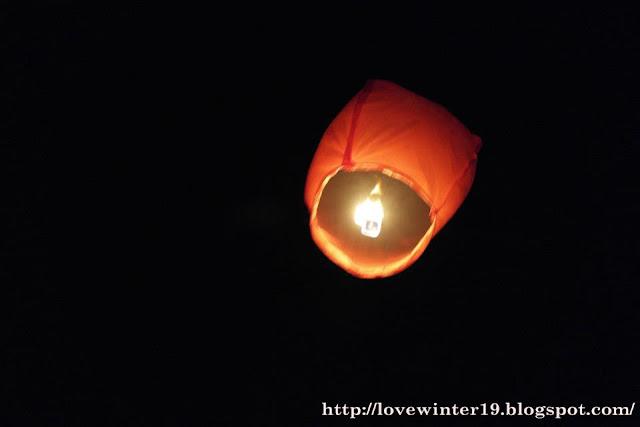 sky lantern