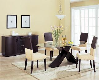 Desain Ruang Makan Minimalis Namun Modern