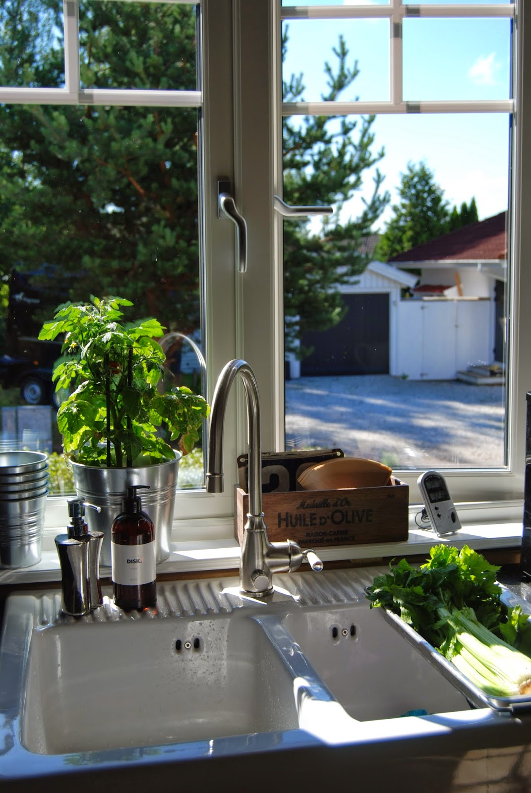 Huset sjöljus: köket är husets hjärta