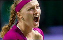 Petra Kvitová vence WTa Championships