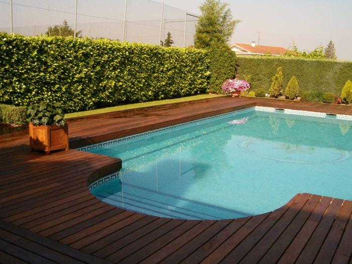 Projetos constru es e servi os construindo a piscina - Fotos de casas con piscina ...