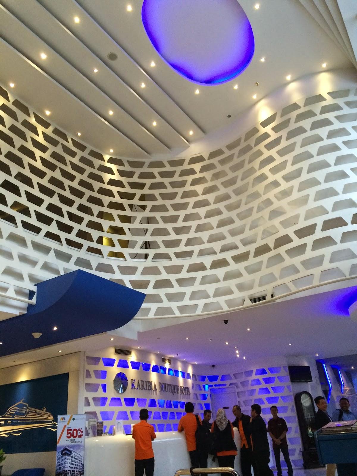 lobi Karibia Boutique Hotel Medan aiza89