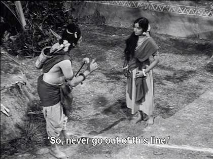 Lakshman to Sita: So, never go out of this line