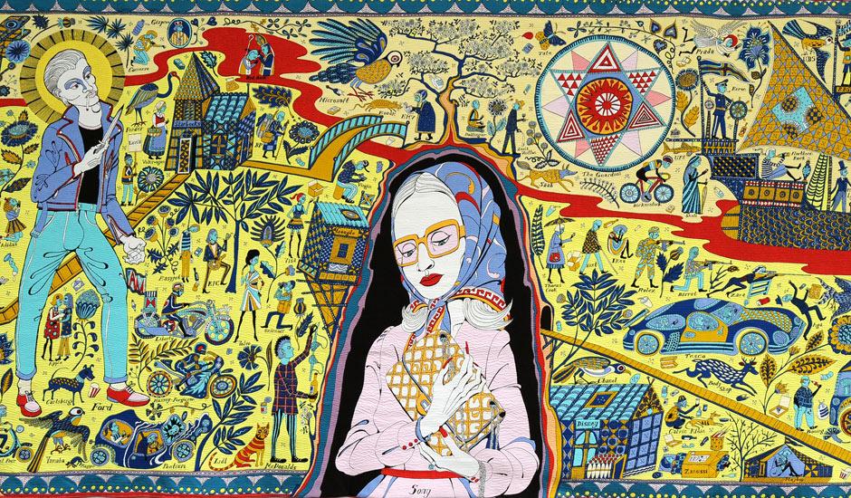 Poesie Grenadine The Walthamstow Tapestry