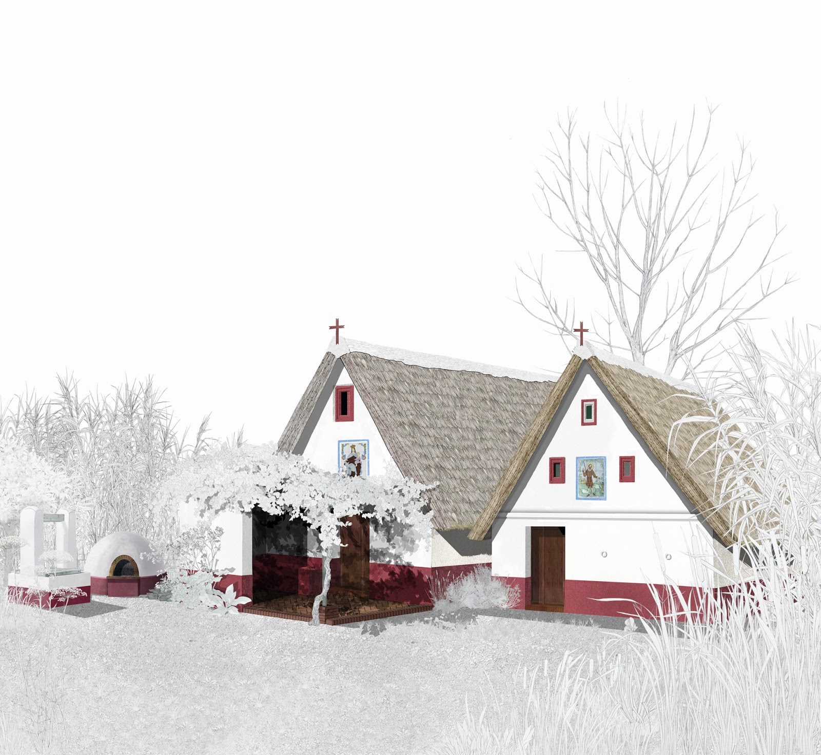 arquitectura ecológica, arquitectura tradicional,