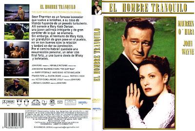 Cover, caratula, dvd: El hombre tranquilo |1952 | The Quiet Man