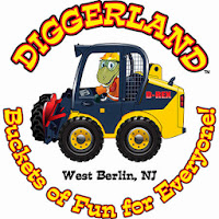 Dancing Diggers at Diggerland this weekend!  Plus code for $10 off!!